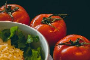 Fresh Tomatoes nearly salad box