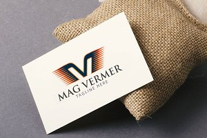 MV Mag Vermer Text Logo