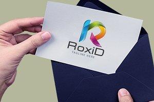 ROXId R 3d logo