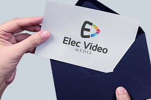 Elec Video stream Play Logo