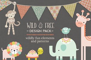 Wild & Free Design Pack