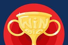 Win Cup Symbol