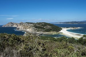 Viewpoint of the Cies Islands