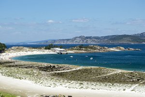 Views to the Cies Islands