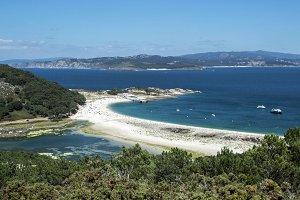 Cies island Beach