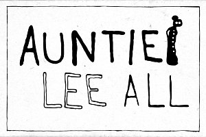 Auntie Lee - complete (3 fonts)