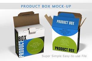 Cardboard Box Mock Up