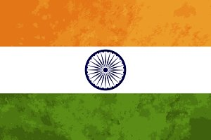 True proportions India flag