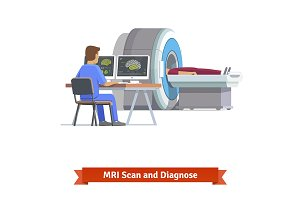MRI Scan and Diagnose