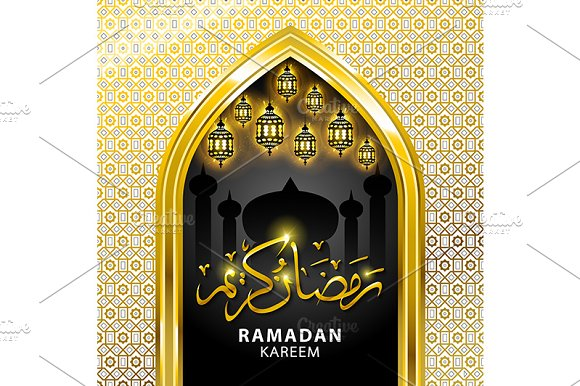 Ramadan graphic background. in Graphics - product preview 2
