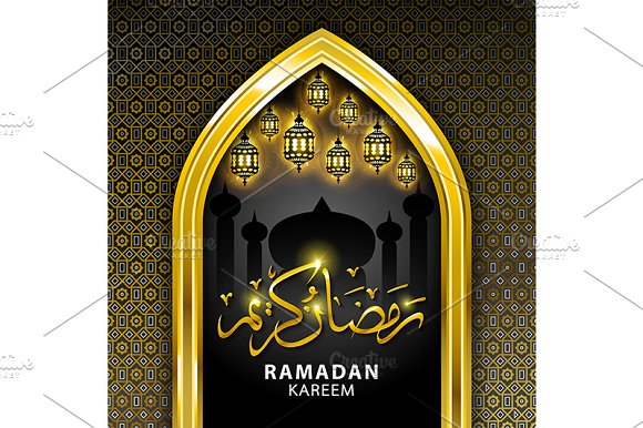 Ramadan graphic background. in Graphics - product preview 3