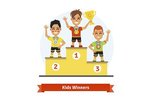 Kids sport winners