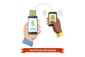 Sending money wirelessly