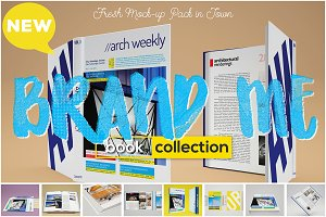 Brand Me - Book Mock-up Collection