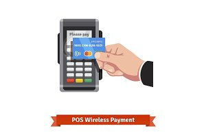 Paying wirelessly over POS
