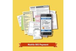 Smartphone bill payment