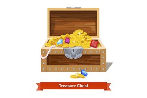 Treasure full chest