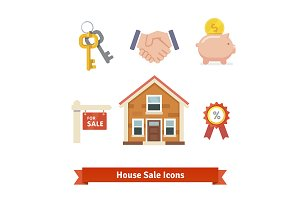 House sale icons