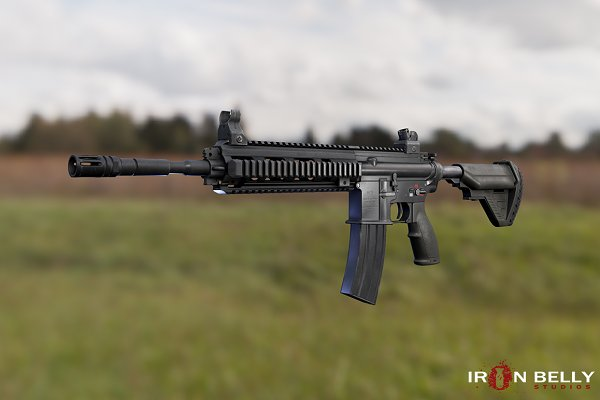 3D Weapons: Ironbelly Studios - AAA FPS HK416D