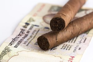 Cigars on in Indian Currency
