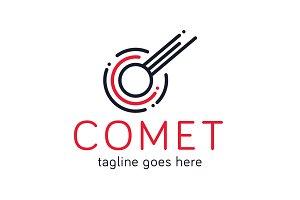 Comet Logo - Letter C