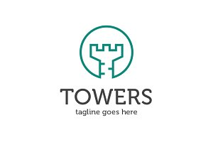 Tower Logo - Letter T