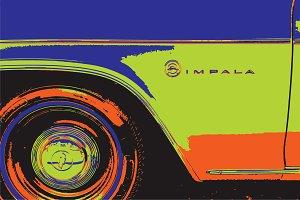 1966 Impala Pop Art