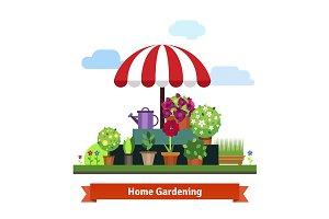 Home greening store