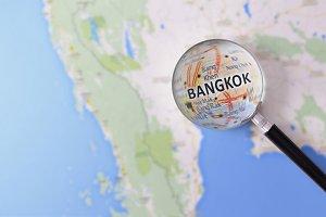 Consultation Bangkok in map