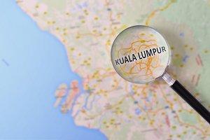 Consultation Kuala Lumpur in map