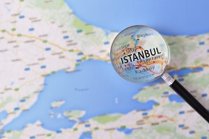 Consultation Istanbul in map