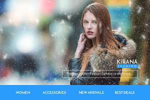 Kirana fashion email template