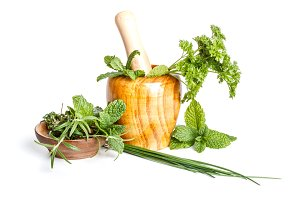 Fresh flavoring herbs