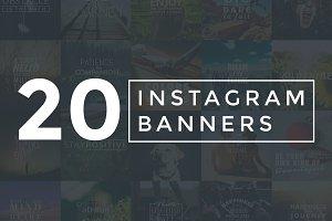 20 Inspiring Instagram Banners