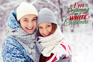 Christmas Word Overlays