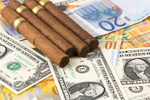 Wasting Money on Cigars currency