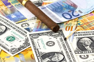Wasting Money on Cigar with currency