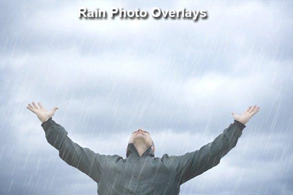 Rain Photo Overlays