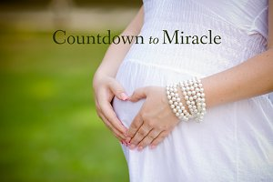 Simple Maternity Word Overlays
