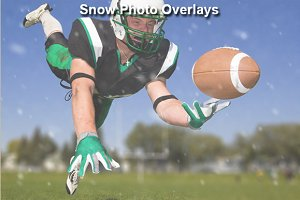 Snow Photo Overlays