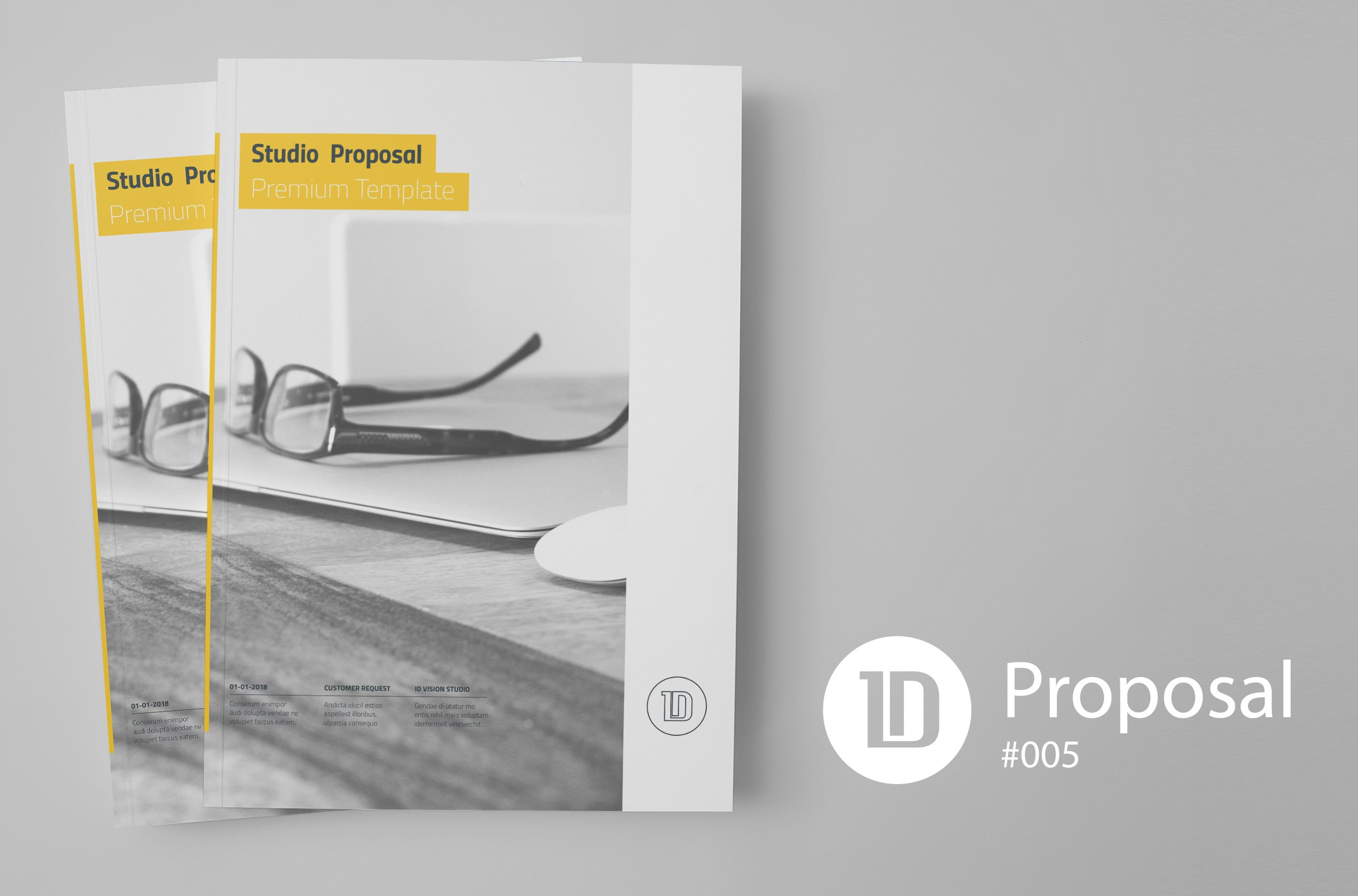 Project Proposal Template 008 ~ Brochure Templates ~ Creative Market