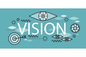 Business Vision Banner Concept