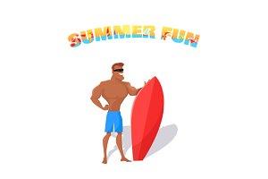 Summer Fun Banner Concept Design