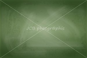 Green Blank Blackboard