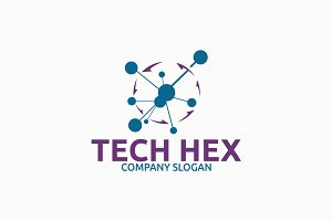 Tech Hex Logo