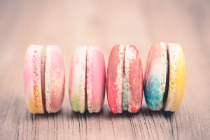 macaron for background