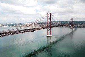 The 25 de Abril Bridge - Lisbon