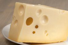 Cheese closeup