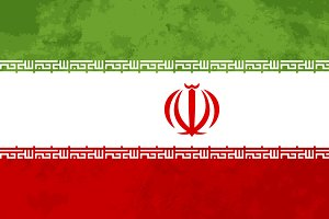 True proportions Iran flag