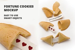 Fortune Cookie Mockup